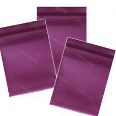 Фиолетовый  однослойный  полиэтиленовый пакет  размер 5х7 см, толщина 100 мкм.
