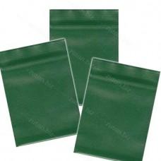 Зелёный  однослойный  полиэтиленовый пакет  размер 5 х 7 см, толщина 100 мкм.
