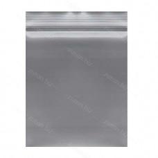 Серый  однослойный  полиэтиленовый пакет  размер 15х20 см, толщина 100мкн