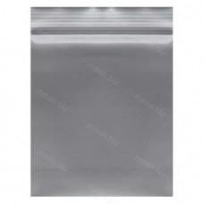 Серый  однослойный  полиэтиленовый пакет  размер 21х28 см, толщина 100 мкм.
