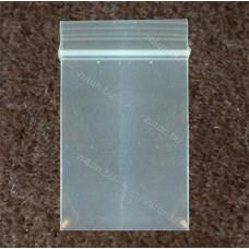 Пакет  6x8см, прозрачный, толщина 100 мкм.